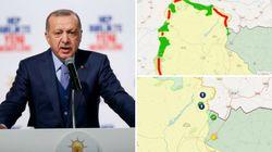 Diese Karten verraten, was Erdogan gerade in Syrien vorhat