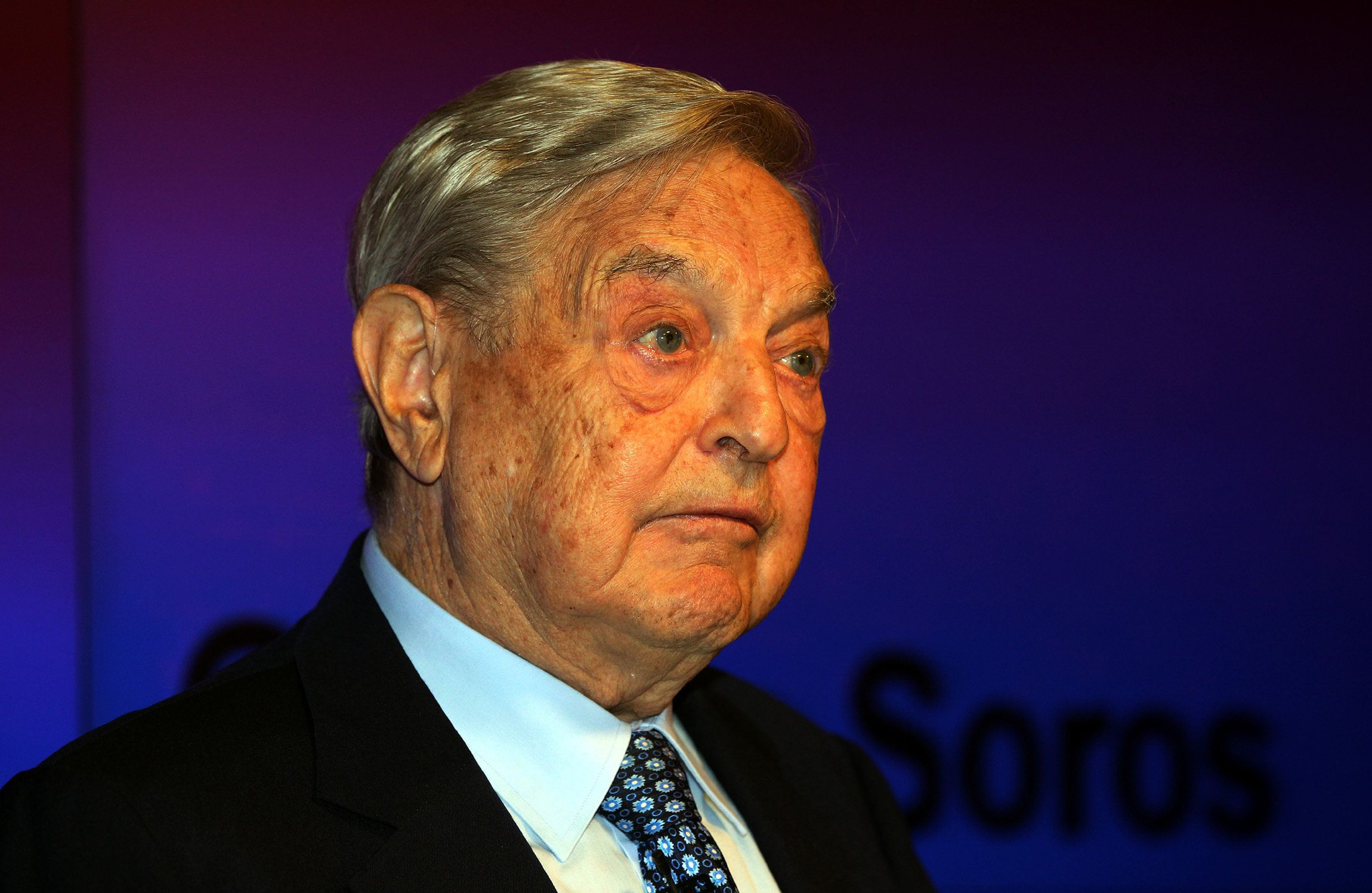 <strong>Billionaire investor George Soros.</strong>