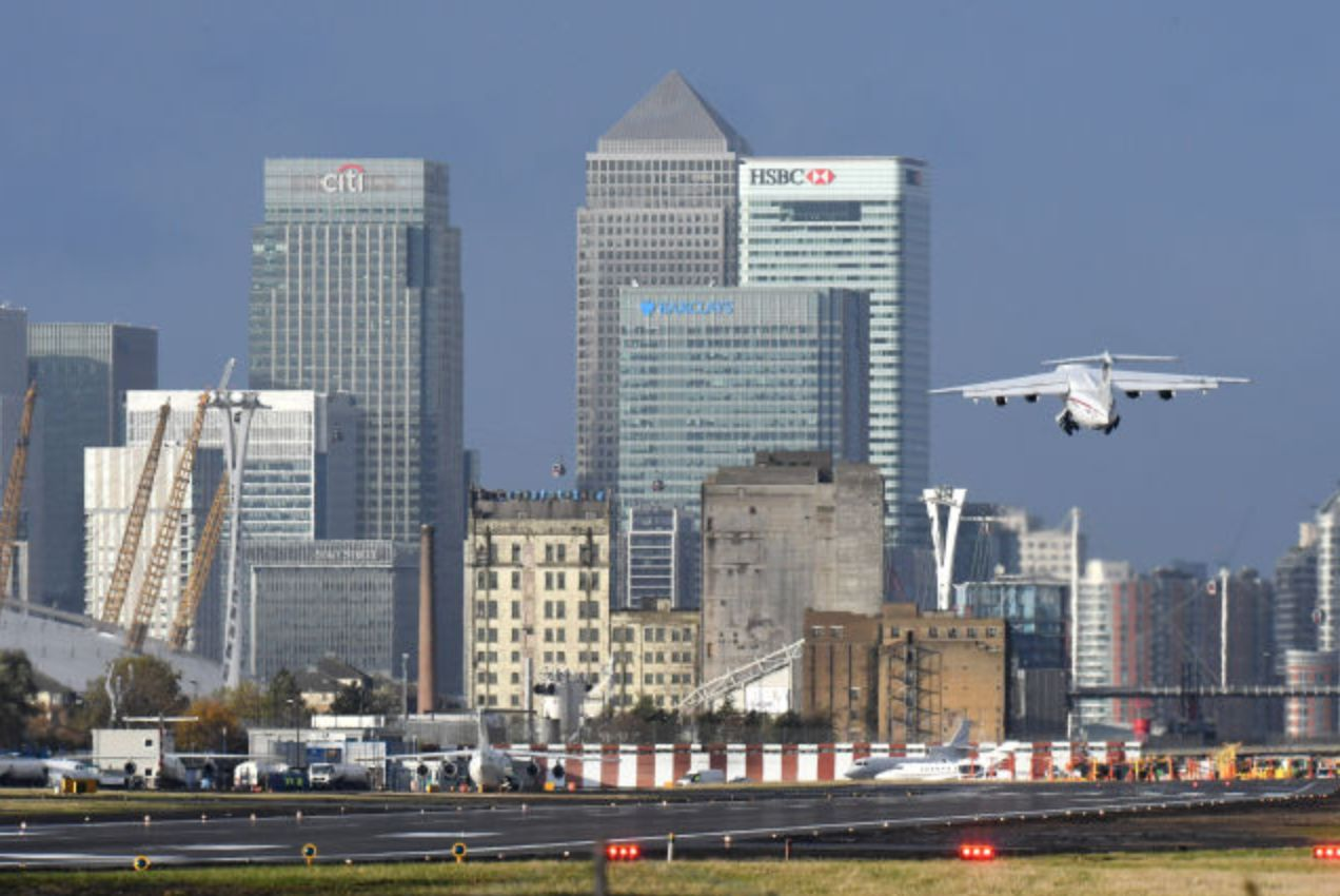London City Airport Closed After Unexploded Second World War Bomb Found