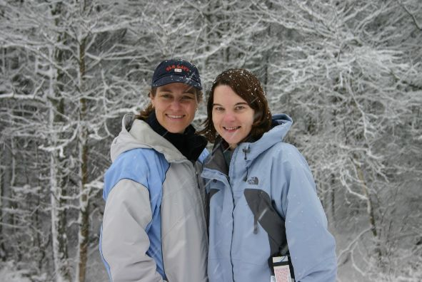 Paula (left) and Joanna Sedley Burke