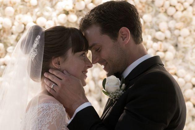 Dakota Johnson and Jamie Dornan in 'Fifty Shades