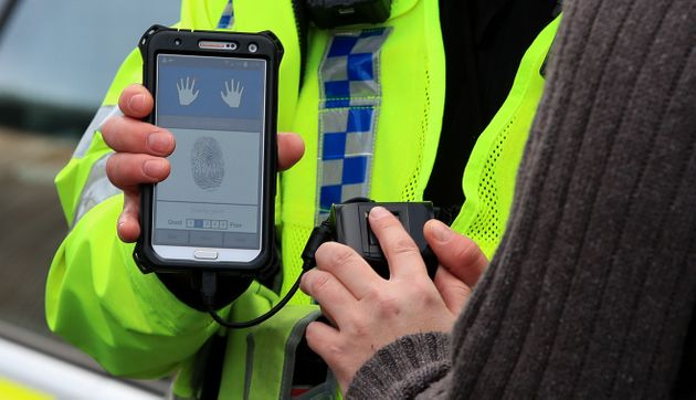 Police Can Identify You In Seconds Using Handheld Fingerprint