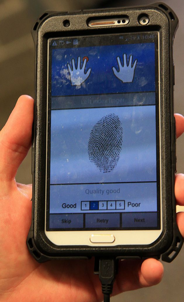 Police Can Identify You In Seconds Using Handheld
