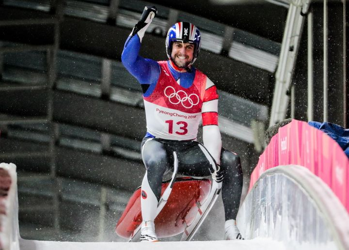 Chris Mazdzer won silver in the luge event over the weekend.