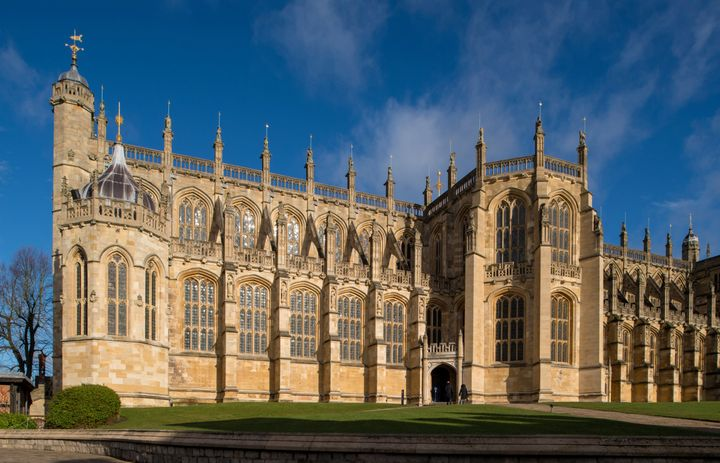 Prince Harry and Meghan Markle will marry at St. George's Chapel at Windsor Castle, pictured above.