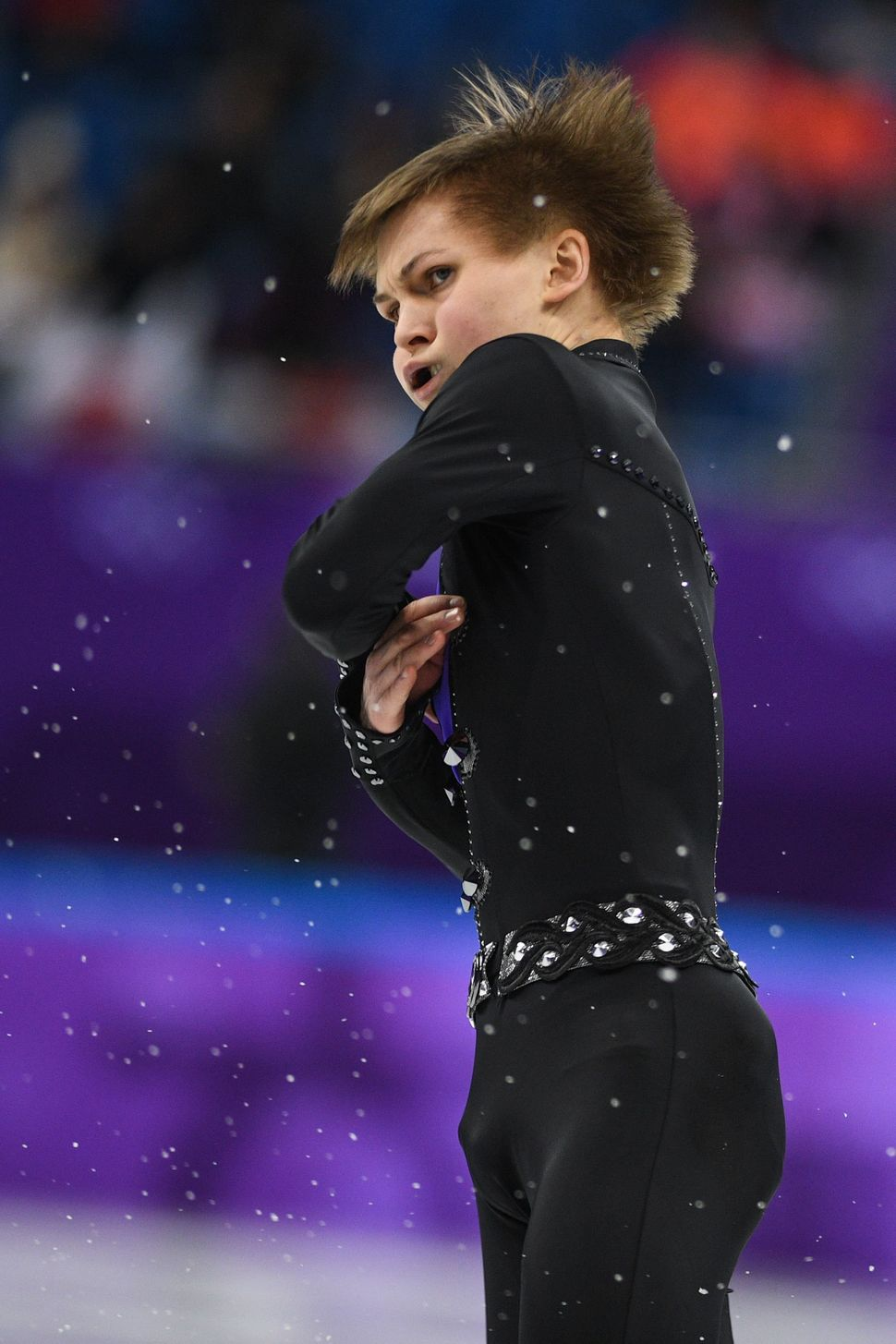 Mikhail Kolyada, an olympic athlete from Russia.