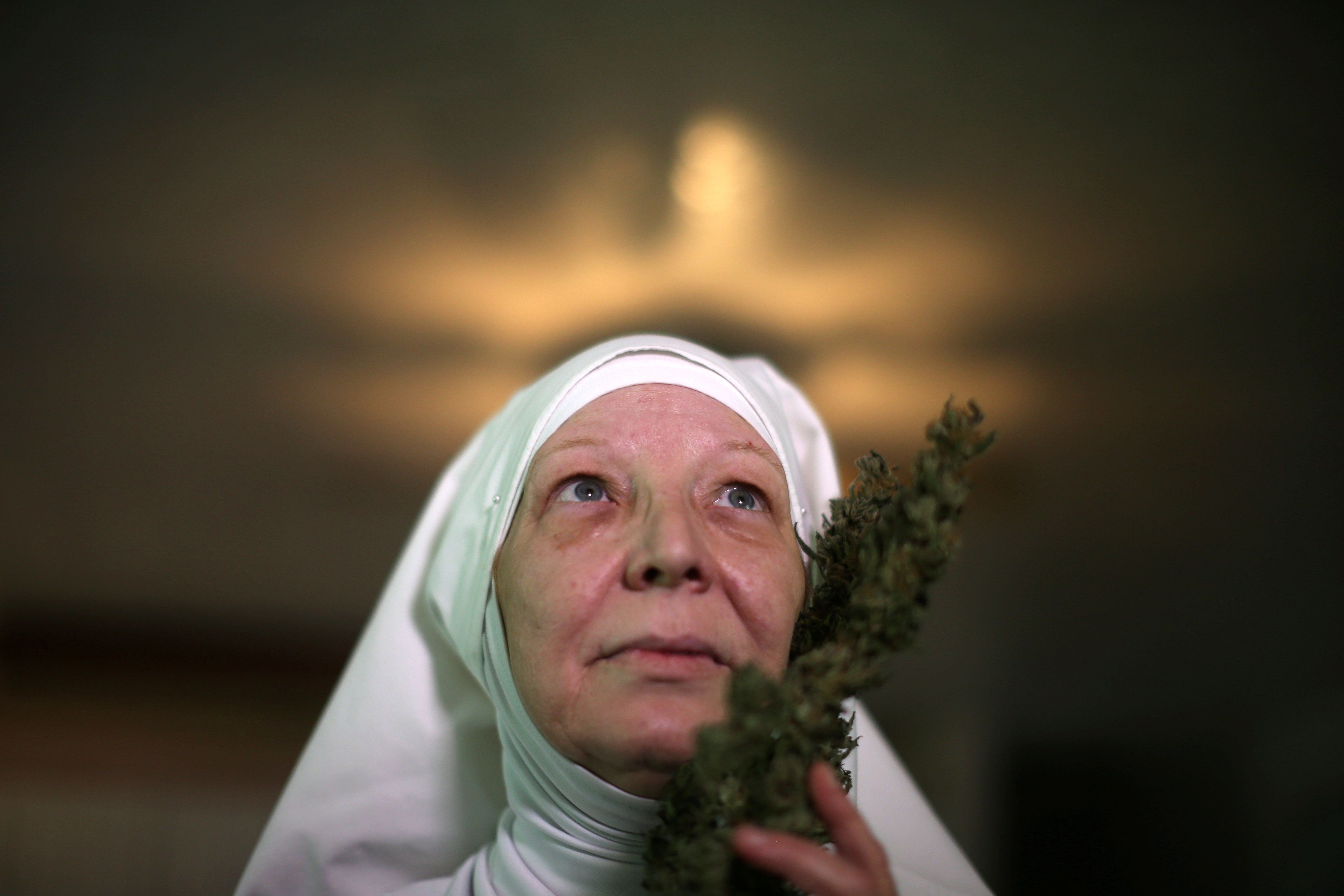 Meet The 'Weed Nuns' Growing Cannabis And Making Balms, Oils And