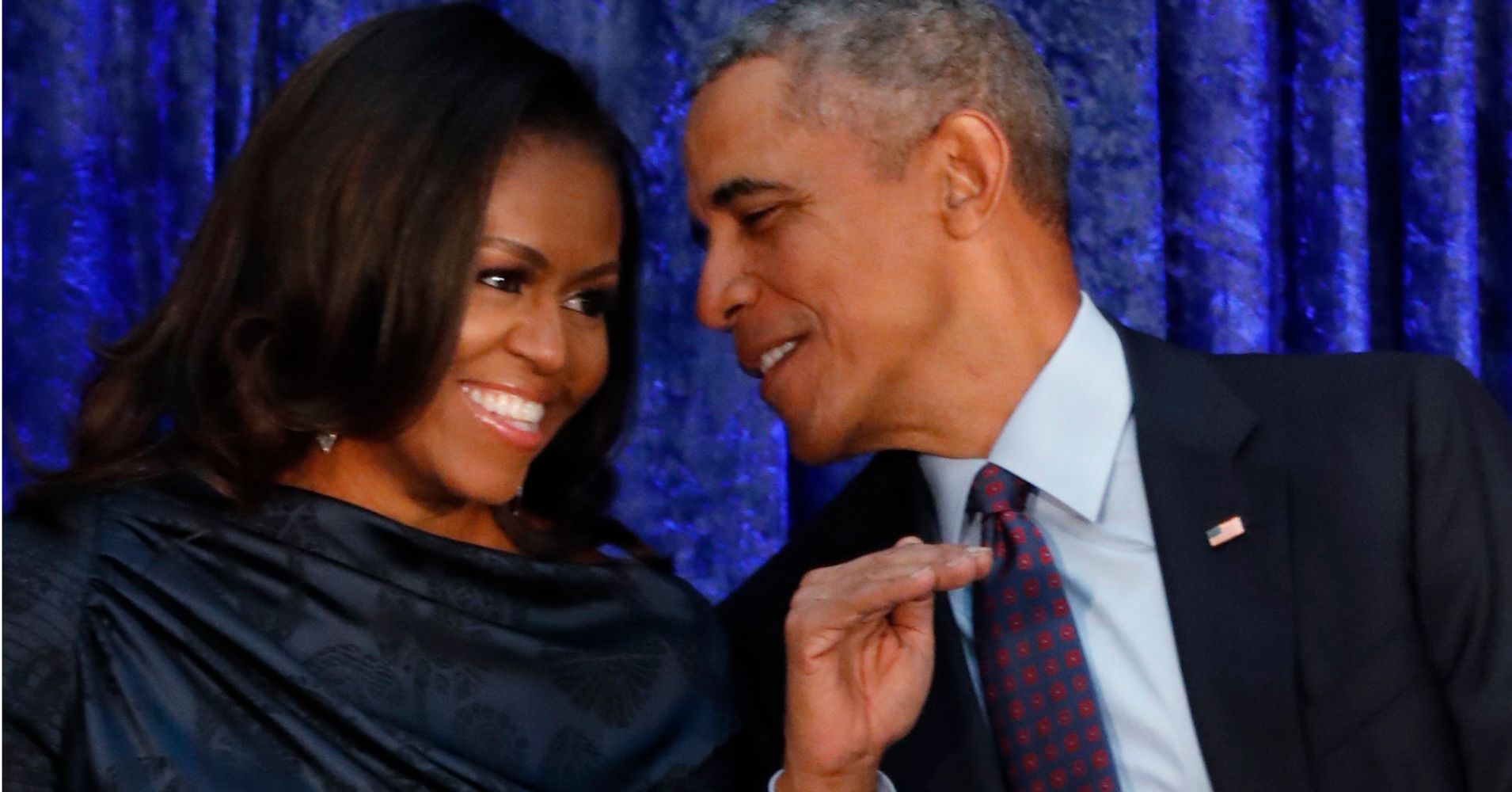See Barack And Michelle Obama's Official Portraits