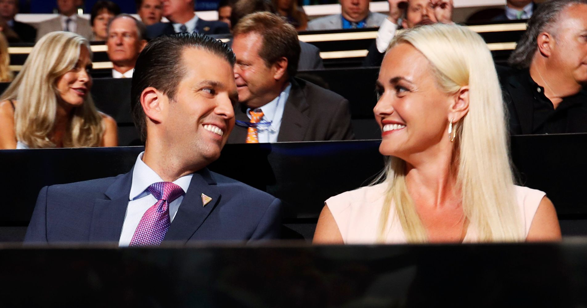 Donald Trump Jr.\'s Wife Hospitalized After Being Exposed To White ...