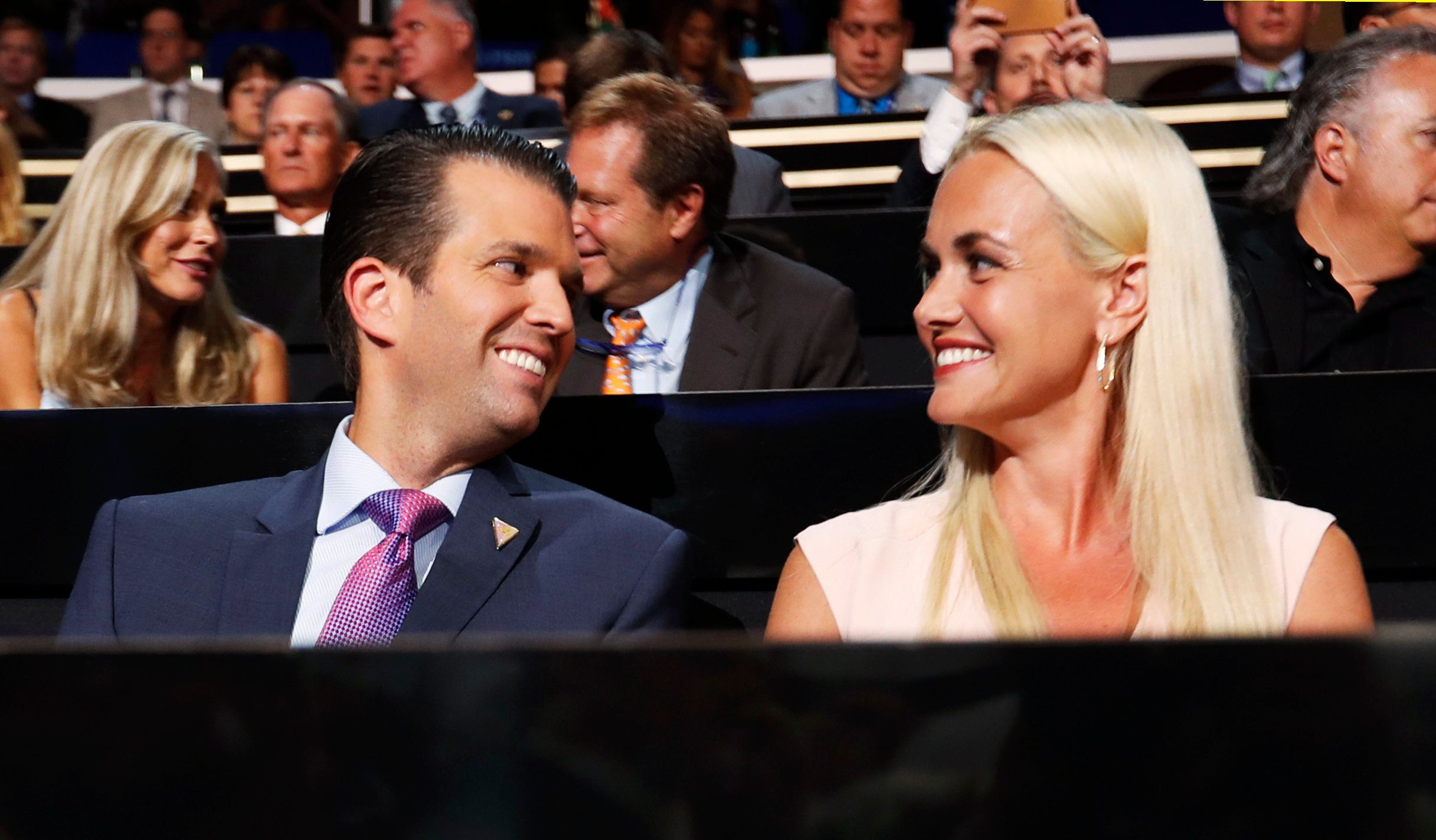 <strong>Trump Jr and Vanessa pictured in 2016.</strong>