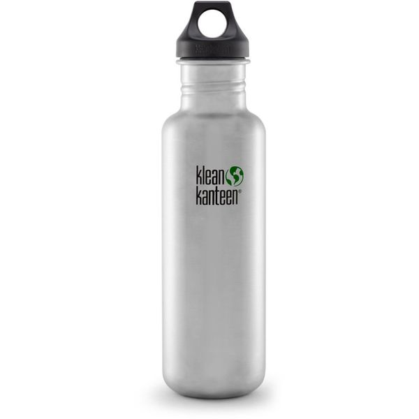 """Stainless steel doesn't retain or impart flavors so this <a href=""""https://www.amazon.com/Klean-Kanteen-Classic-27-Ounce-Stain"""