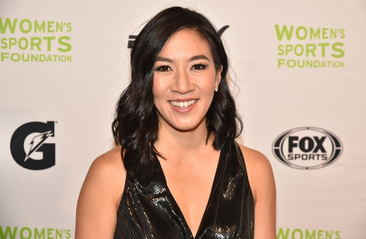 Michelle Kwan won two Olympic medals, five World championships and nine U.S. national championships.