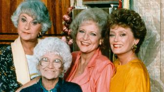 UNITED STATES - APRIL 16:  THE GOLDEN GIRLS - 9/14/85 - 9/14/92, BEA ARTHUR (Dorothy), ESTELLE GETTY (Sophia), BETTY WHITE (Rose), RUE MCCLANAHAN (Blanche) ,  (Photo by ABC Photo Archives/ABC via Getty Images)