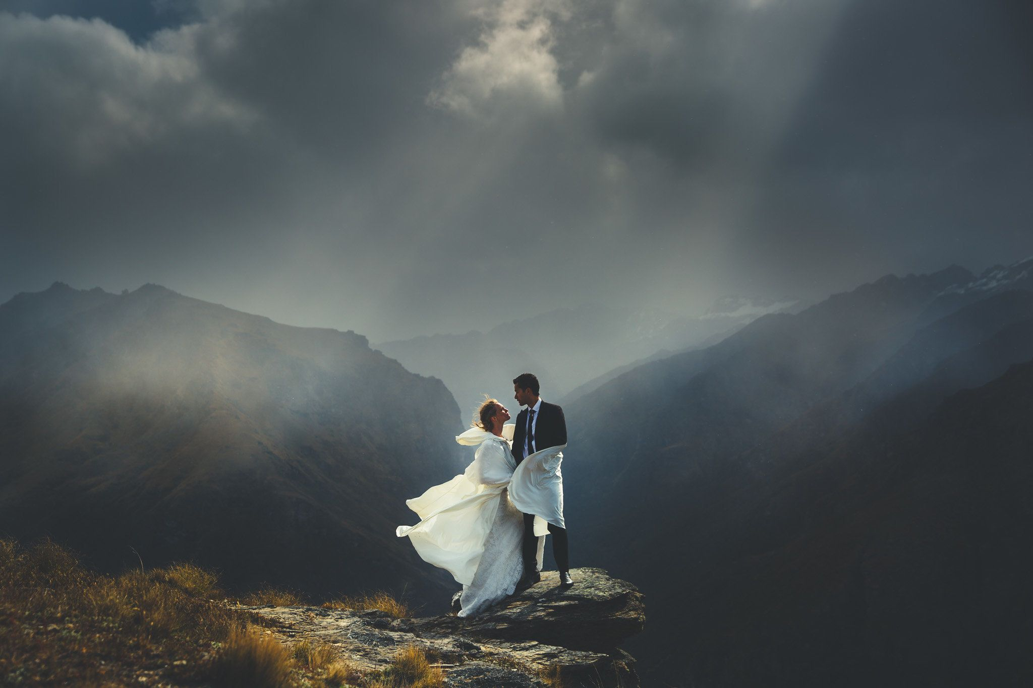 """Keith and Emma were married on the shores of Lake Wakatipu, New Zealand. Now these guys live in the tropical North of A"