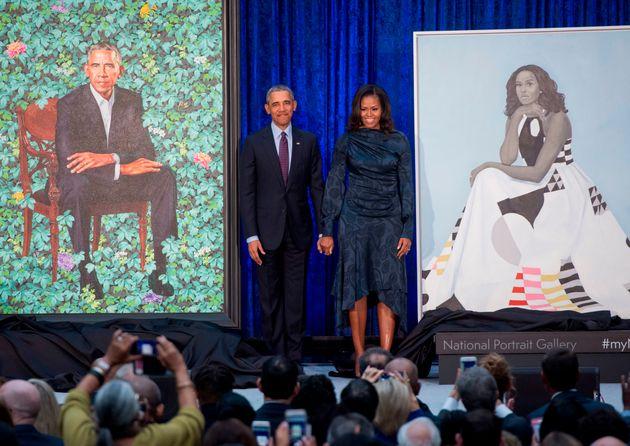 스미소니언에 보관될 오바마 부부의 초상화가