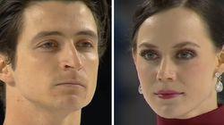 캐나다 아이스댄싱팀이 지나치게 섹시한 동작을 올림픽 프로그램에서