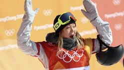 Chloe Kim Takes Gold For U.S. In Women's Snowboard