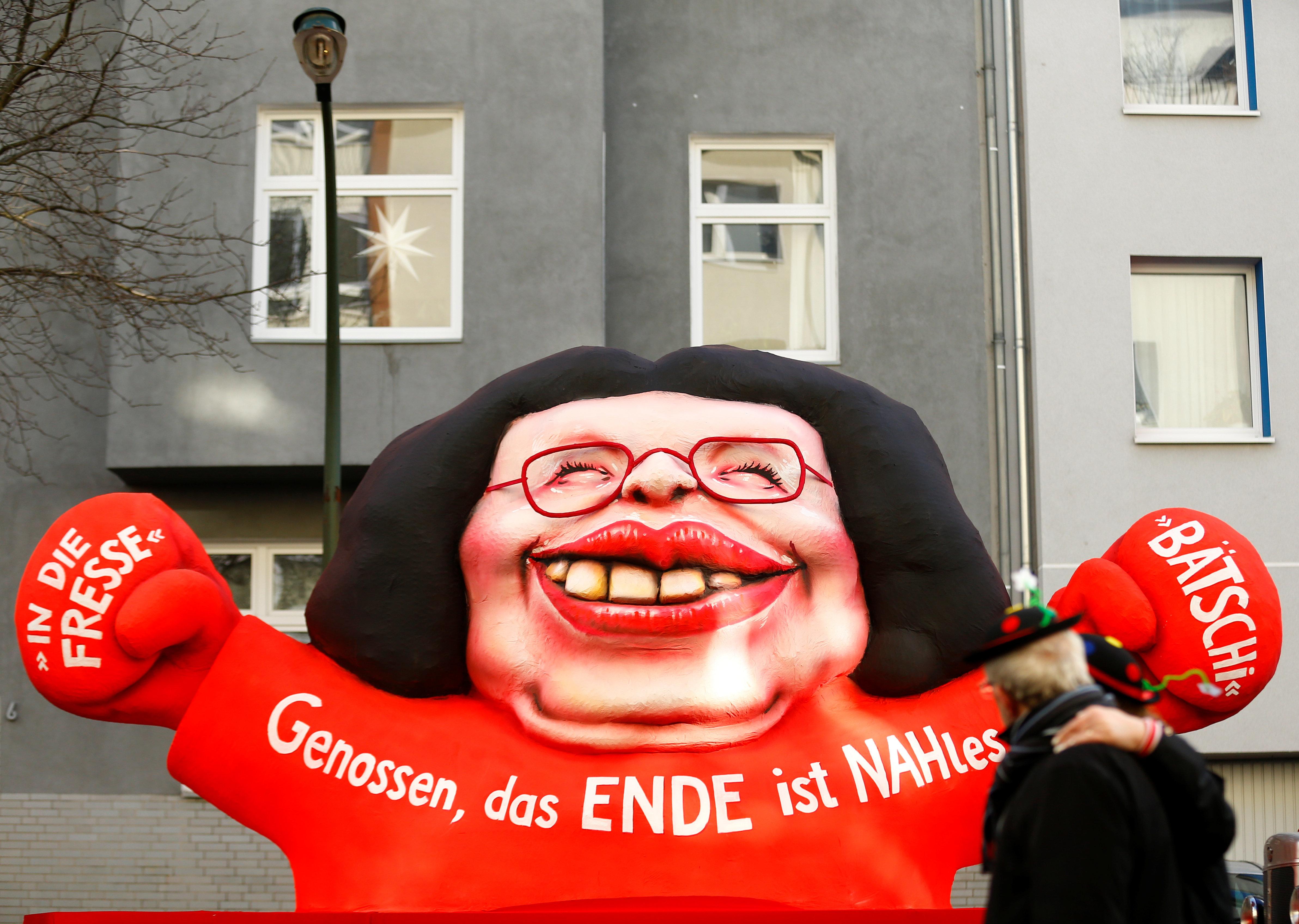 SPD versinkt im Chaos –nun bekommt Nahles auch noch eine Gegenkandidatin