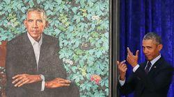 Le portrait officiel d'Obama est déjà le meilleur nouveau mème de
