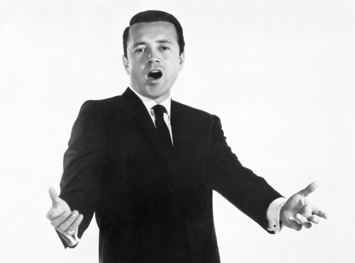 """Vic Damone was best known for hit songs like """"I Have But One Heart,"""" """"On the Street Where You Live,"""" """"An Affair t"""