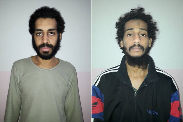 The two British men suspected of beingmembers of an Islamic State execution group dubbed 'The Beatles...