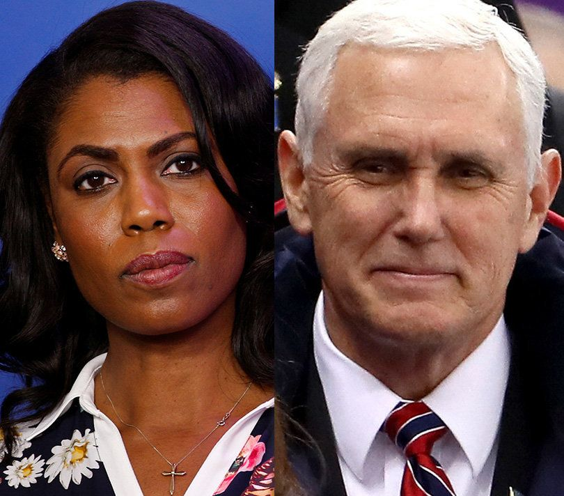 Omarosa Dishes On Mike Pence: 'He Thinks Jesus Tells Him To Say Things'