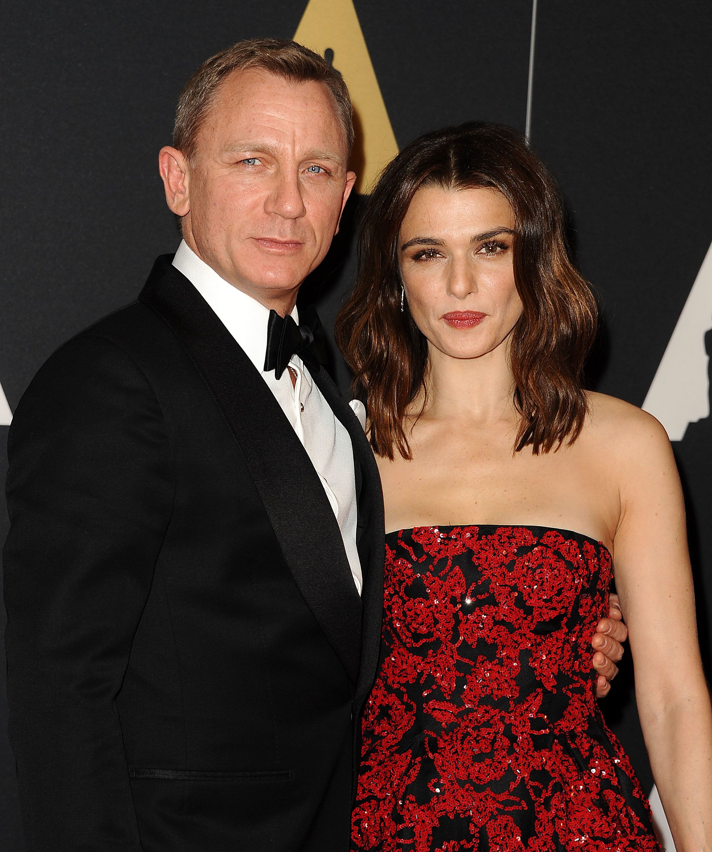 Rachel Weisz with husband and current James Bond, Daniel
