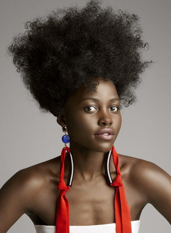 Lupita Nyong'o Celebrates Her Natural 'Kinky' Hair In Allure Cover
