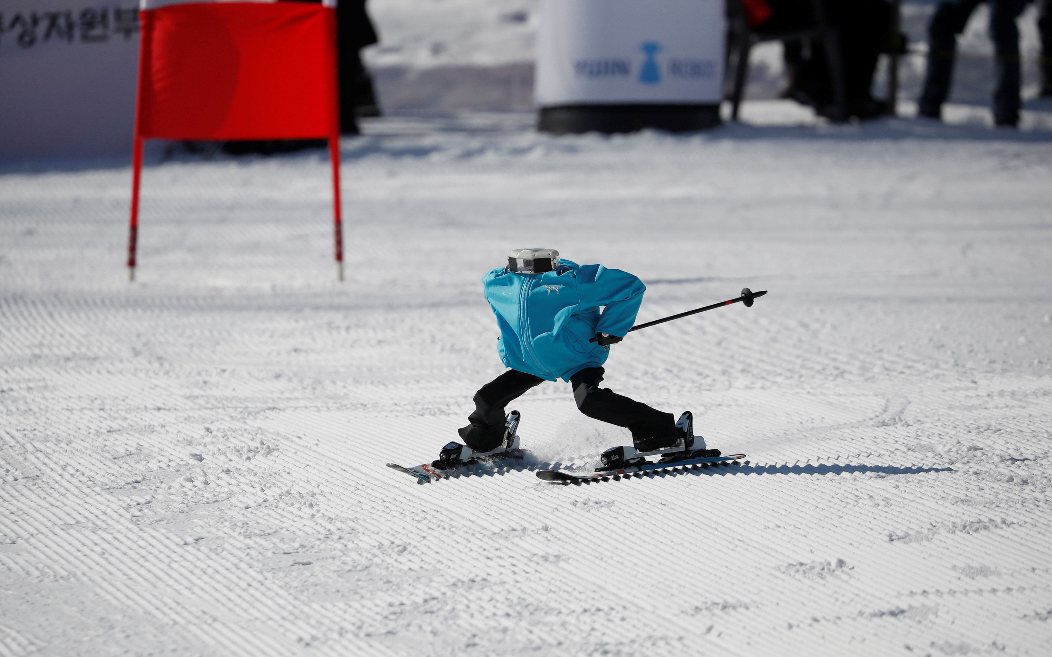 The World's First Robot Ski Olympics Was Truly Bizarre, And We Loved