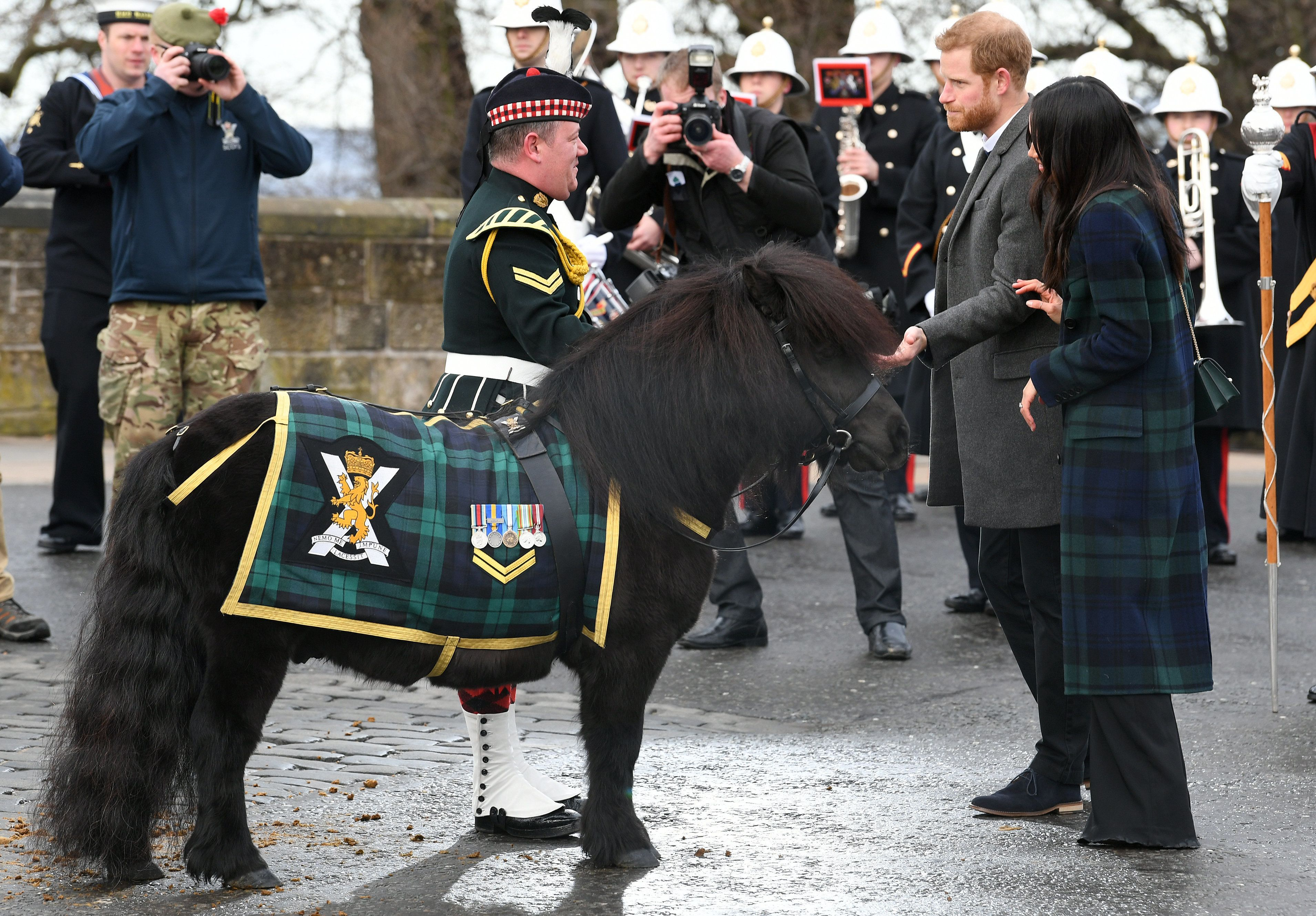 GALLERY: Prince Harry and Meghan Markle visit Scottish capital