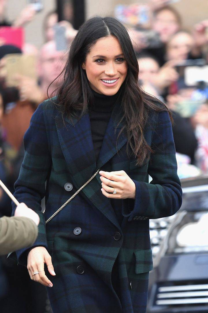 Markle, who is an American but will become a British citizen before her wedding, is wearing more and more British labels.&nbs