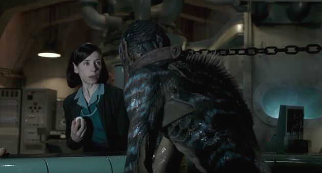 'The Shape Of Water' Is A Forbidden Love Story For Our Times: HuffPost