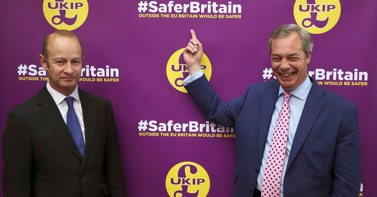 Nigel Farage Will Reveal On Friday If He Backs Henry Bolton To Stay As Ukip Leader