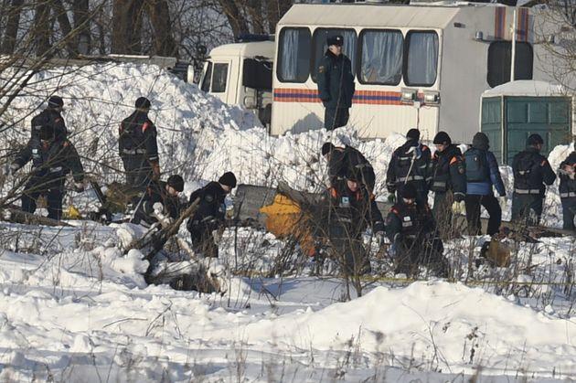 Ρωσία: Η συντριβή του ΑΝ-148 στην Μόσχα οφείλεται πιθανόν σε λαθεμένες ενδείξεις ταχύτητας επειδή είχαν...