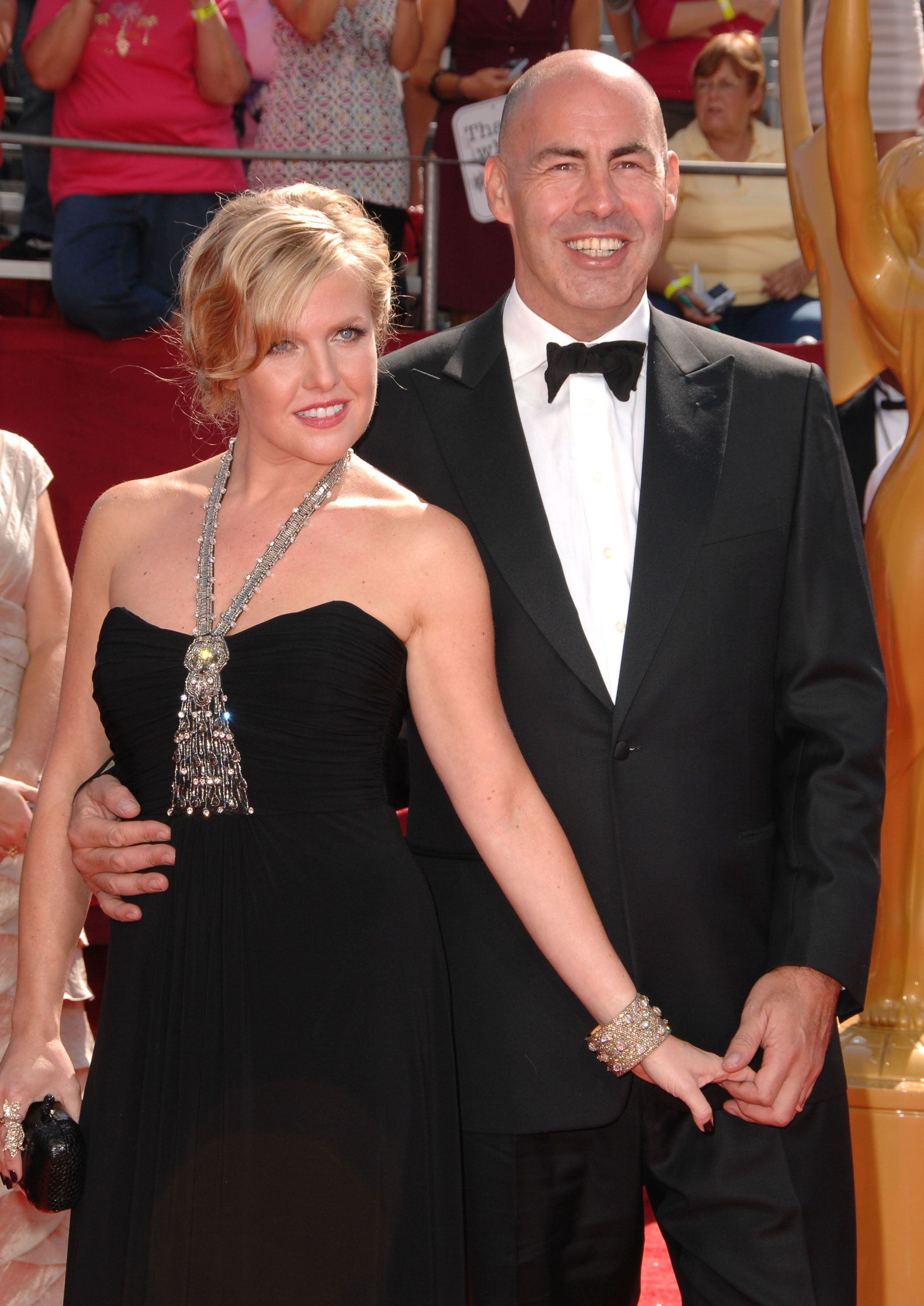 <strong>The couple at the 2008 Emmys</strong>