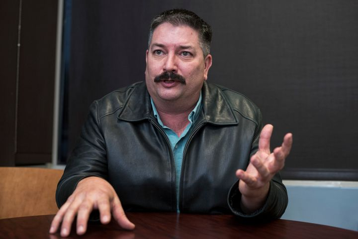 "Democrat Randy ""IronStache"" Bryce, a union ironworker, has made his organized labor bona fides a core theme of his upstart ca"