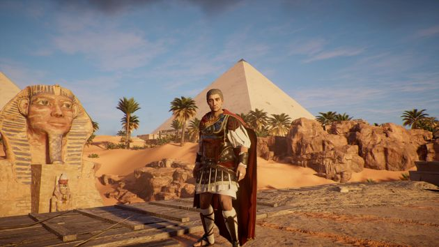 There are 25 playable characters from Ptolemy to Caesar to