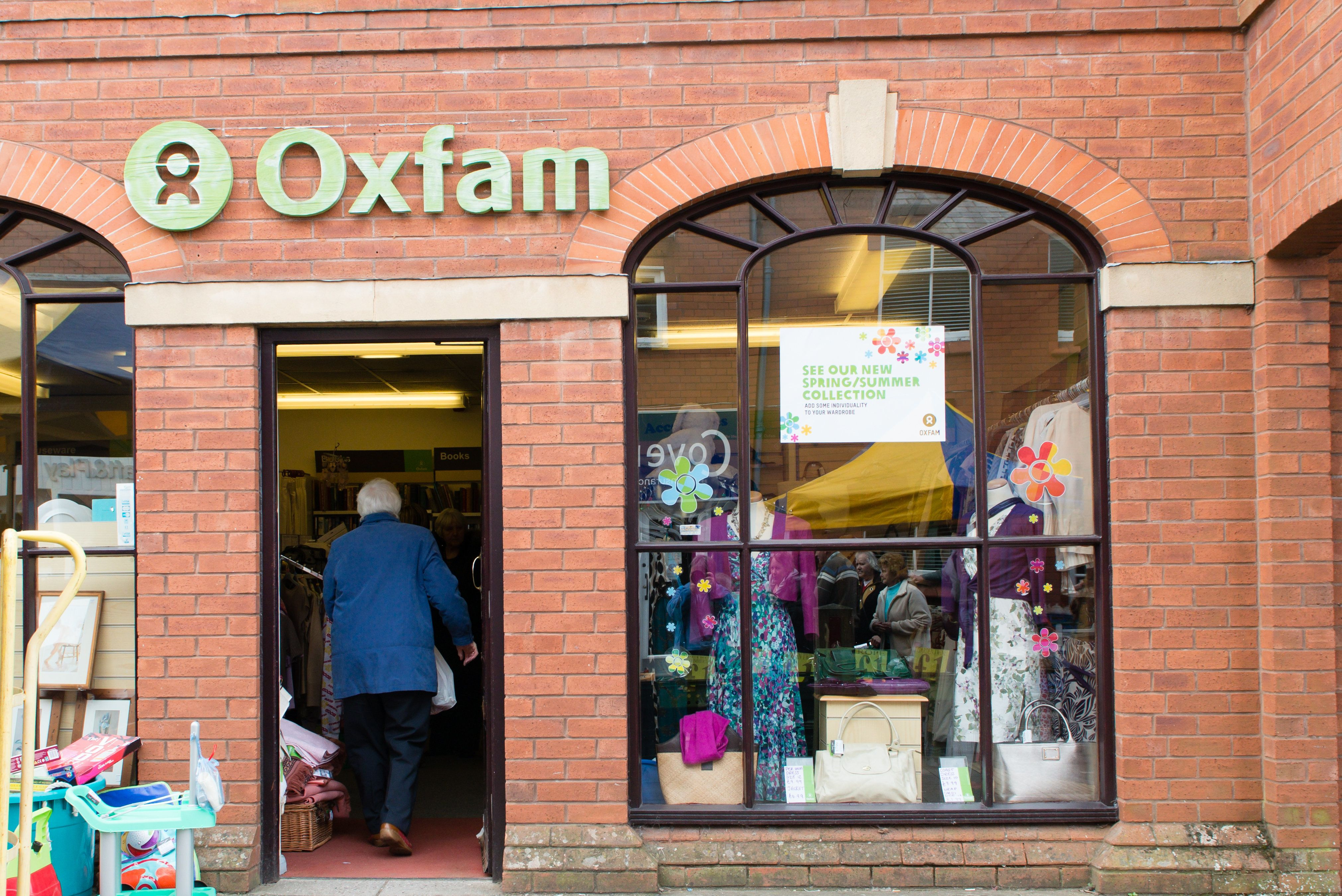 <strong>Oxfam has 650 shops in Britain - with thousands of volunteers volunteers</strong>