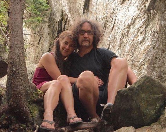El autor y su novia,