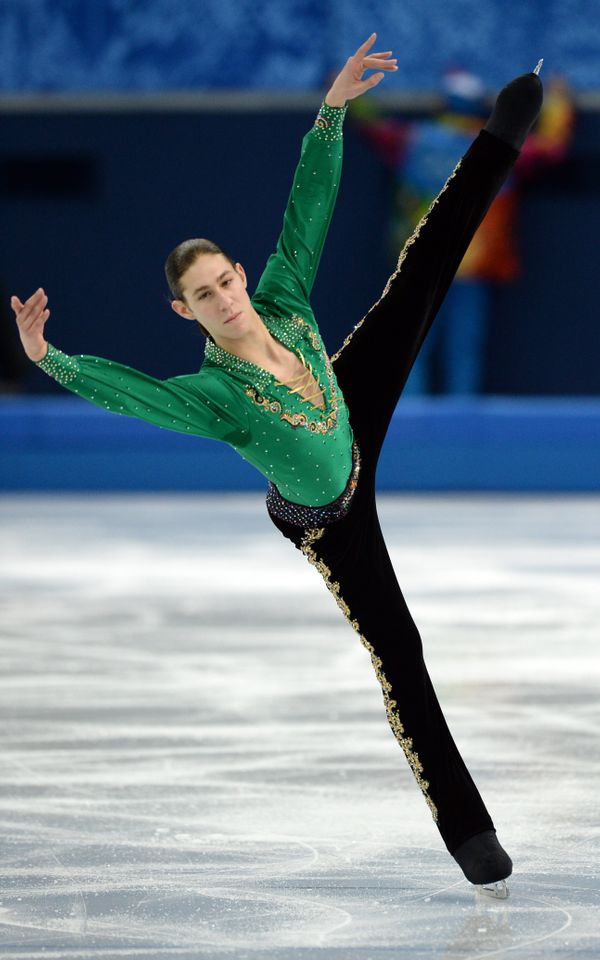 The U.S. skater at the Sochi Winter Olympics on Feb. 9, 2014.