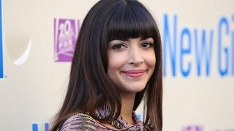 LOS ANGELES, CA - MAY 08:  Actress Hannah Simone attends the 'New Girl' Season 3 Finale Screening and cast Q&A at Zanuck Theater at 20th Century Fox Lot on May 8, 2014 in Los Angeles, California.  (Photo by Imeh Akpanudosen/Getty Images)