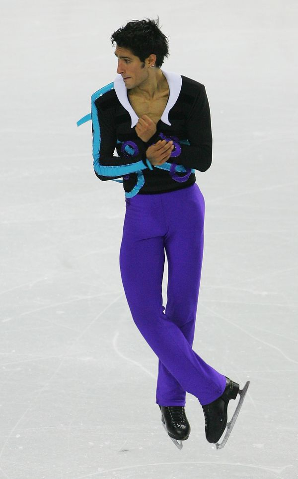 The Canadian in the men's free skating program in Turin, Italy.