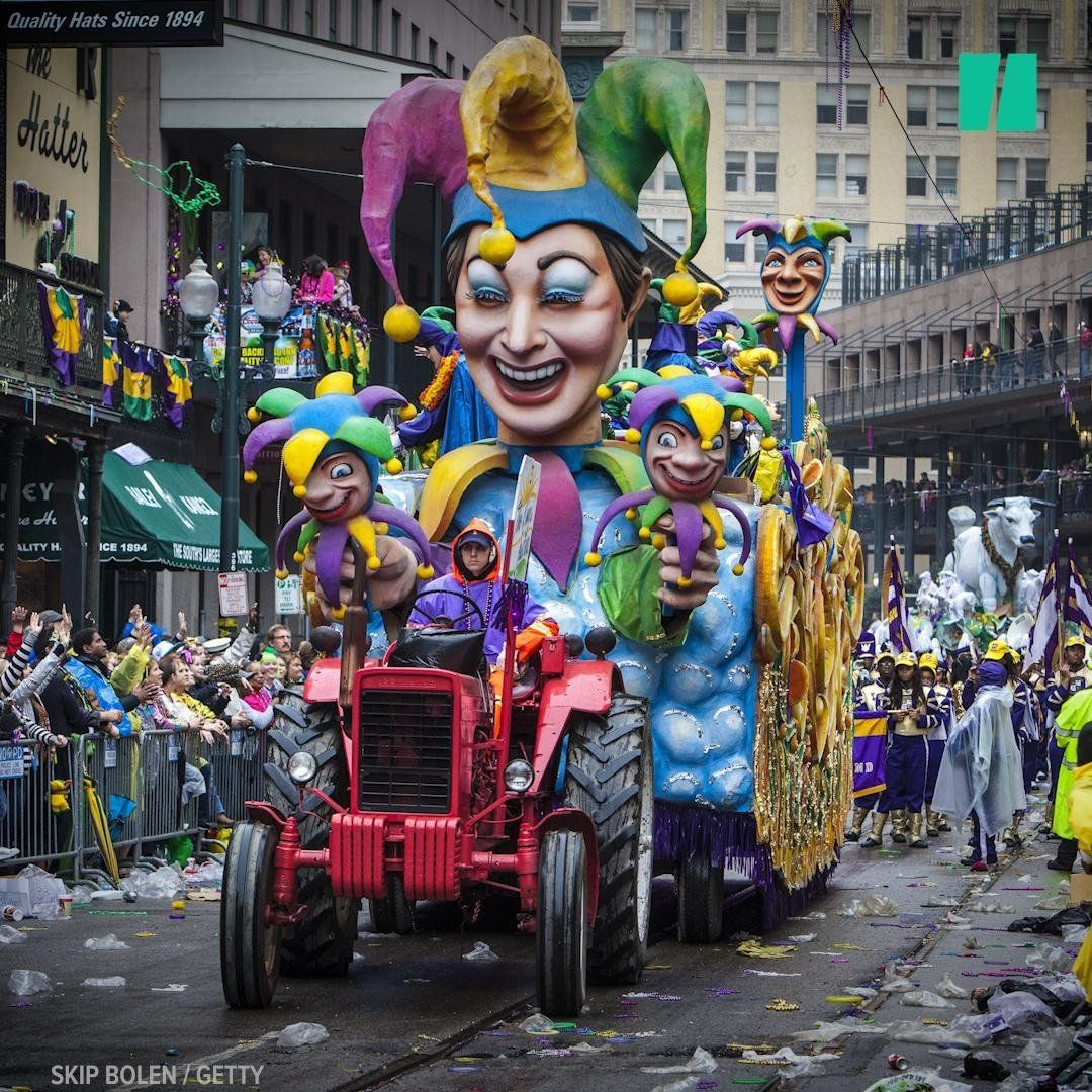 The Grand History Of Mardi Gras