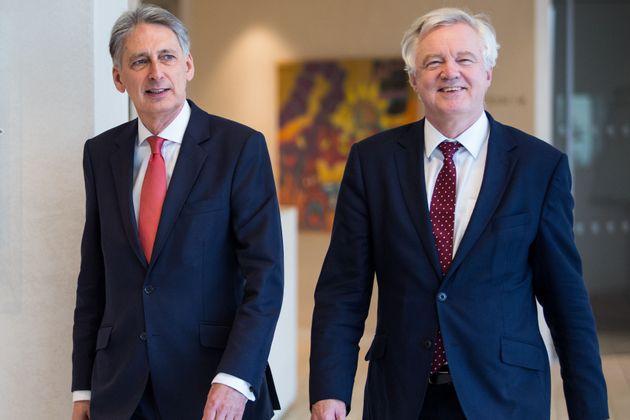 Chancellor Philip Hammond and Brexit Secretary David