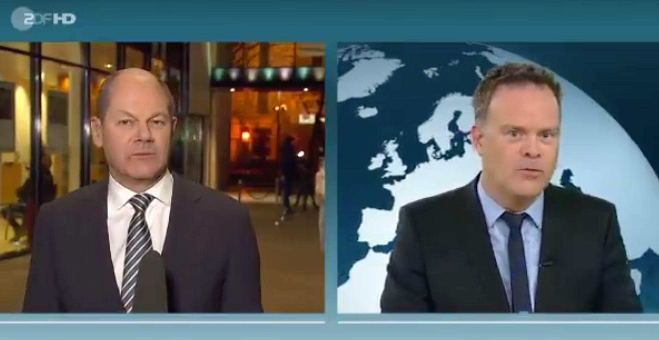 Scholz wirbt um Zustimmung der SPD-Basis zum Koalitionsvertrag