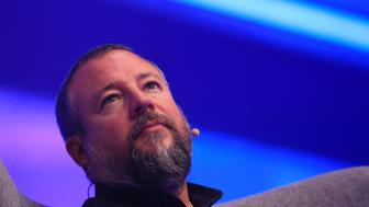 Shane Smith, chief executive officer of Vice Media Inc., looks on at the Dmexco digital marketing conference in Cologne, Germany, on Wednesday, Sept. 14, 2016. Dmexco is a two-day global business and digital economy innovation platform, attracting the industry's most important personalities and corporate decision-makers. Photographer: Krisztian Bocsi/Bloomberg via Getty Images