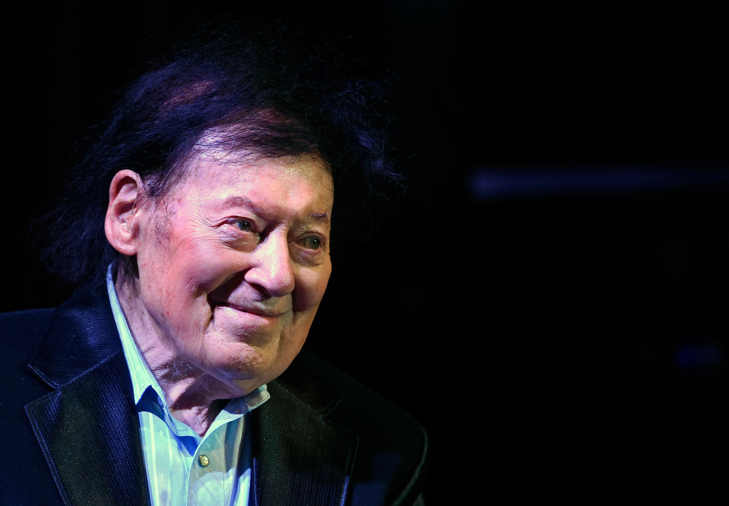 LAS VEGAS, NV - MARCH 23:  Comedian/actor Marty Allen performs during a show celebrating his 95th birthday at the South Point Hotel & Casino on March 23, 2017 in Las Vegas, Nevada.  (Photo by David Becker/Getty Images)