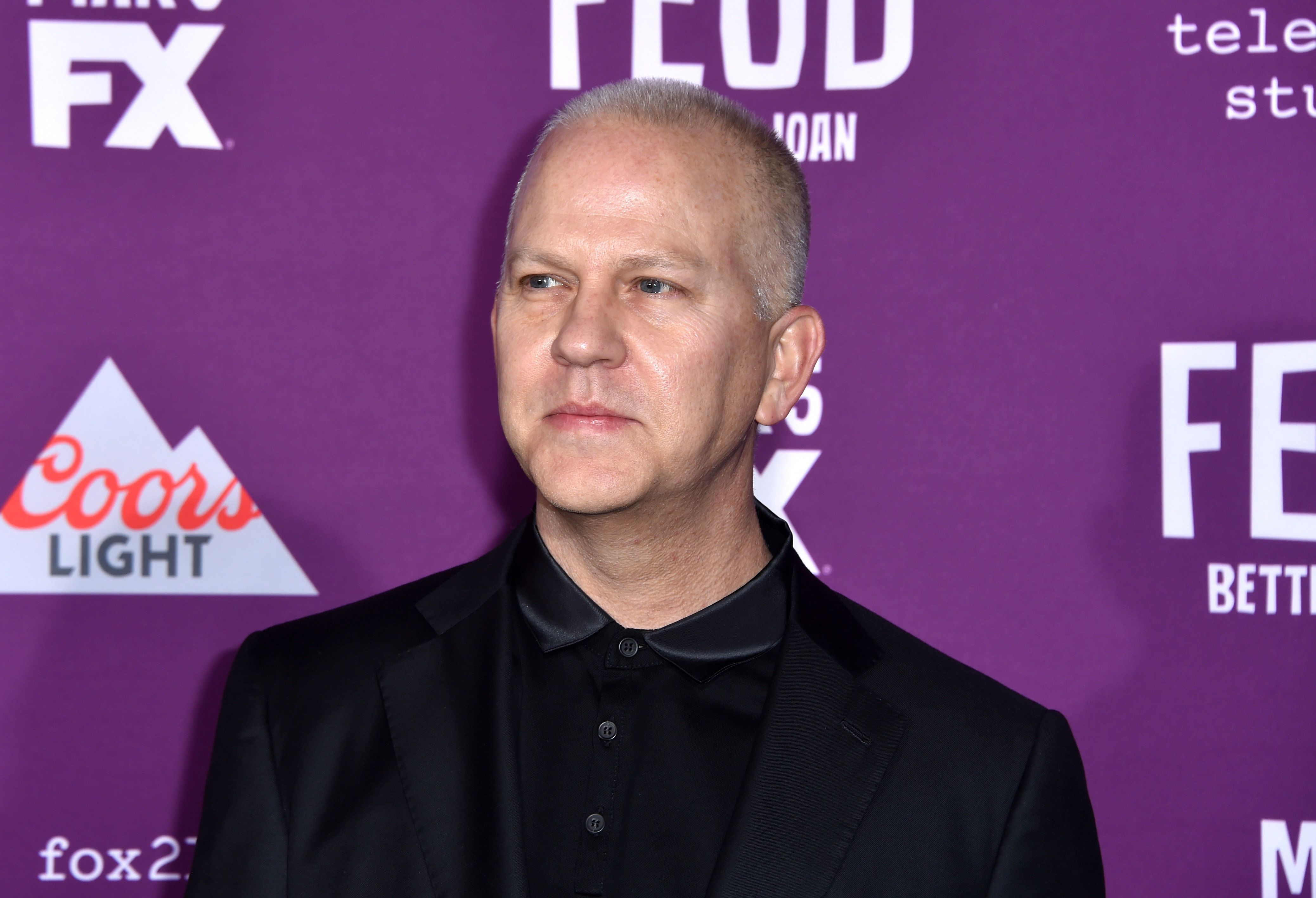 "Writer, director and producer Ryan Murphy at the premiere of ""Feud: Bette and Joan"" in Hollywood on March 1, 2017."