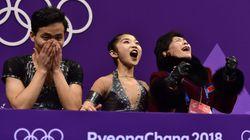 북한 피겨 페어 렴대옥·김주식이 최고의 연기를
