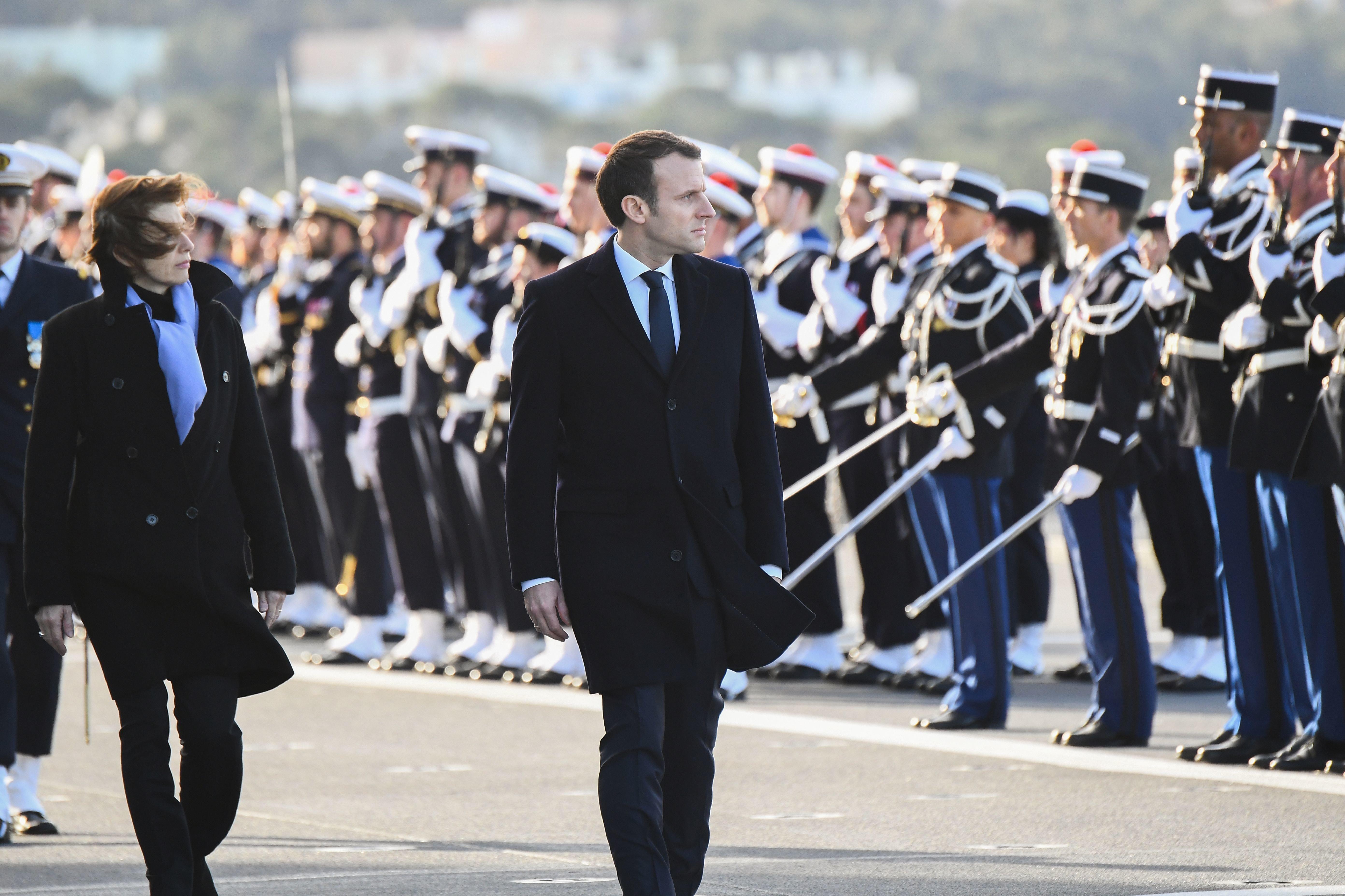 Macron: Frankreich wird Syrien angreifen, sollte Chemiewaffeneinsatz bewiesen werden